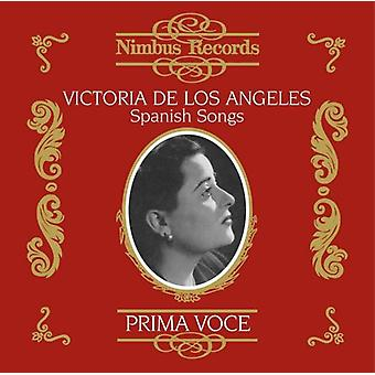 De Los Victoria Angeles - Prima Voce: Spanish Songs [CD] USA import