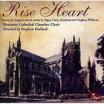 Worcester Cathedral kammare - upphov hjärtat: Romantiska engelska körverk [CD] USA import