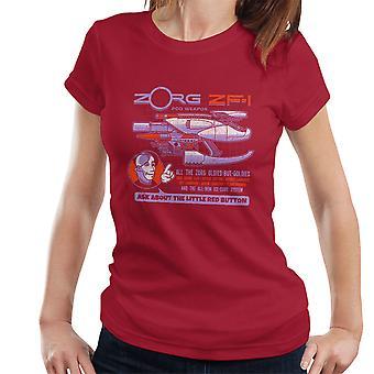 The Fifth Element Zorg Blaster ZF-1 Women's T-Shirt
