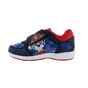 Boys Paw Patrol Top Pups  Blue Canvas Trainers Childrens Shoes Sizes 5-10