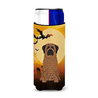 Halloween Mastiff Brindle Michelob Ultra Hugger for slim cans