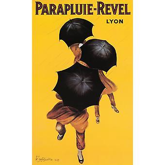 Parapluie-Revel Poster Print von Leonetto Cappiello (22 x 36)