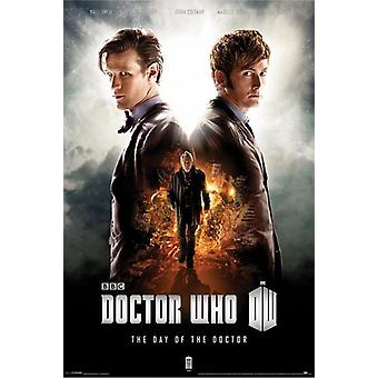 Doctor Who - Day of the Doctor Poster Poster Print
