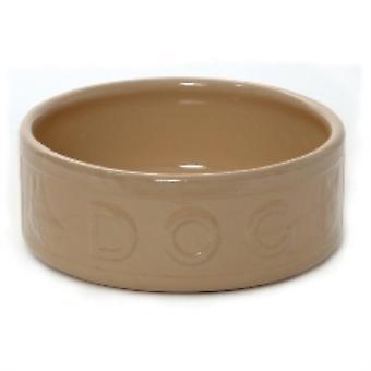Mason Cash Pod Hundenapf gelbe Keramik Onkel beschriftet 180mm