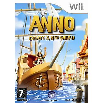 Anno Create A New World (Nintendo Wii) - Factory Sealed