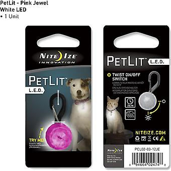 Nite Ize Petlit White Led Pink Jewel Lighting Equipment for Camping