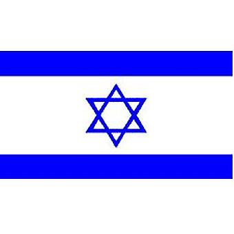 Israel Flag 5ft x 3ft With Eyelets For Hanging
