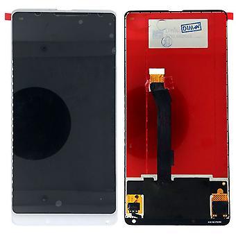 Xiaomi MI blandingen 2 reparation display LCD komplet enhed touch hvid udskiftning nye