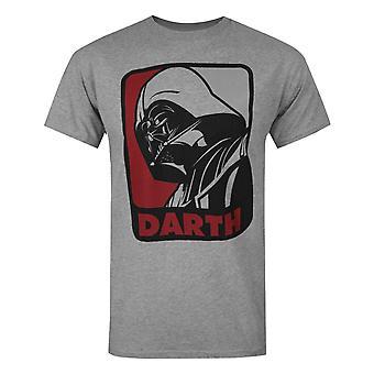 Star Wars Official Mens Darth Vader Sport T-Shirt