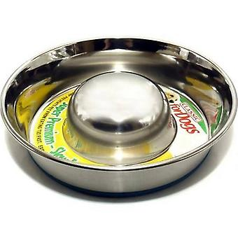 Classic Slow Go Stainless Steel Dish