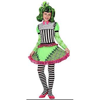Børns kostumer piger pige monster kostume halloween