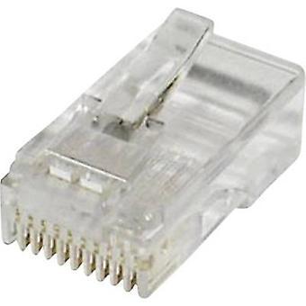 Modular plugg plugg, rak antal stift: 10 MPL10/10R tydlig econ ansluta MPL10/10R 1 dator