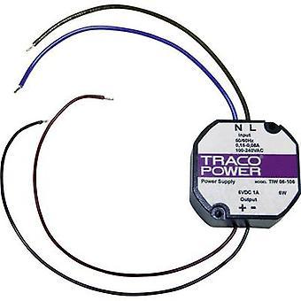TracoPower TIW 12-124 AC/DC PSU modul 0,5 A 12 W 24 V DC