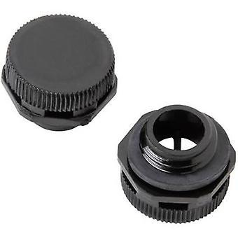 Weidmüller DAE M12 PA lang trykk kompensasjon stykke M12 polyamid Black 1 PC (er)