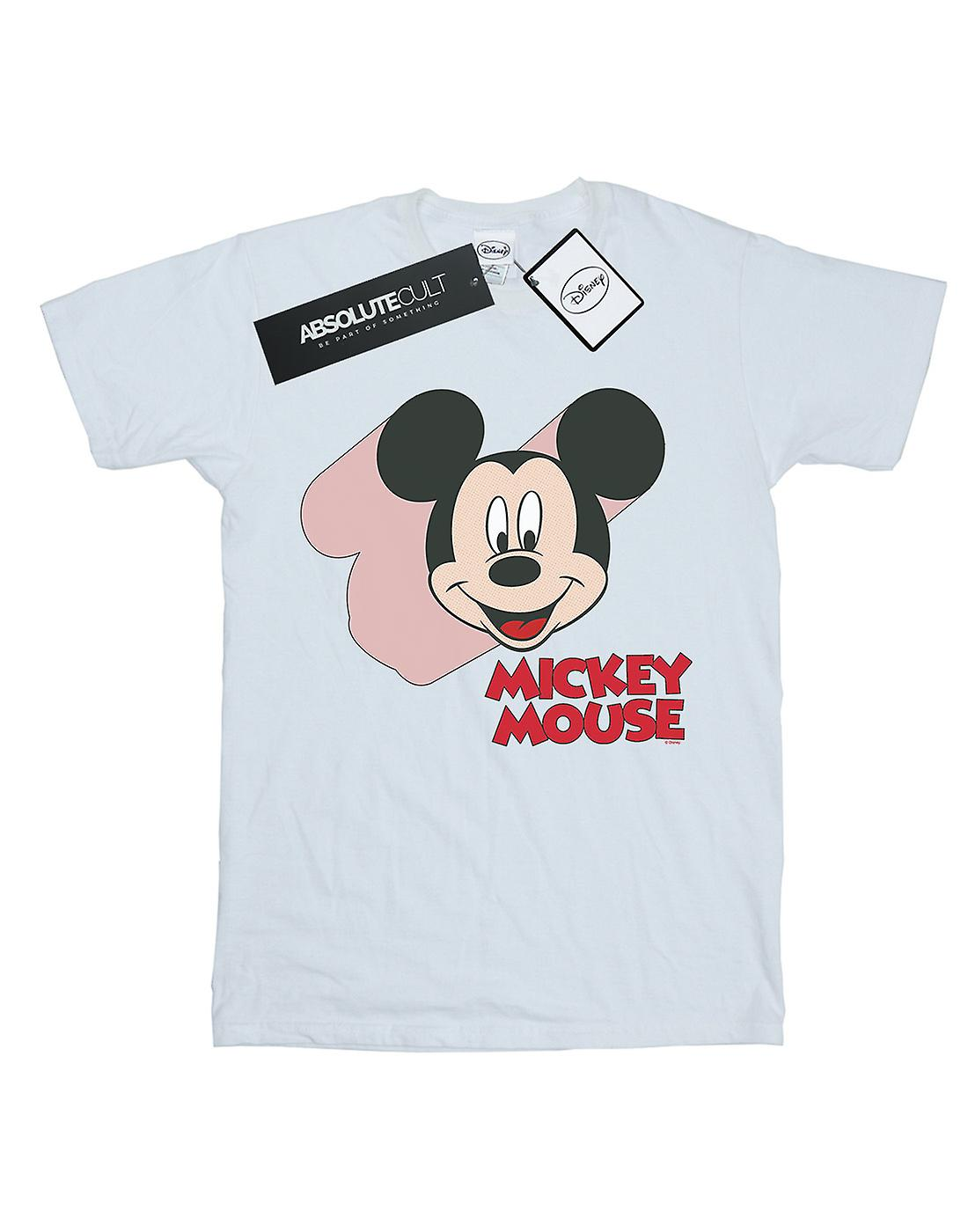 Disney Women's Mickey Mouse Move Boyfriend Fit T-Shirt