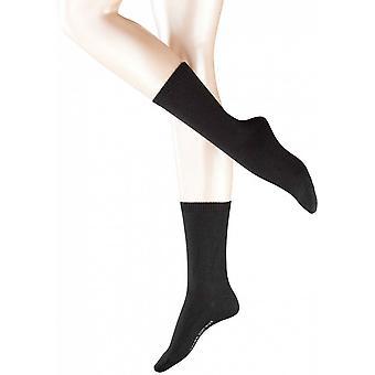 Falke hyggelige uld sokker - sort