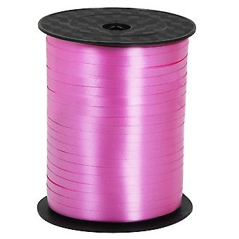 TRIXES 500 Meter langen rosa Satin Ballon Ribbon