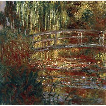 The Japanese Bridge, Claude Monet, 50x50cm