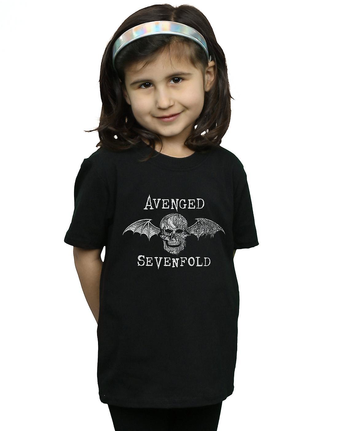 Avenged Sevenfold Girls Cyborg Deathbat T-Shirt