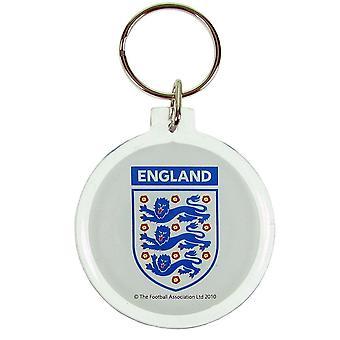 Engeland FA acryl Crest Keyring