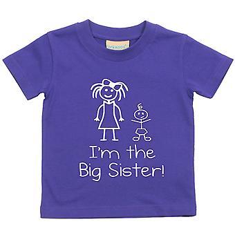 私は大きな妹紫 t シャツ
