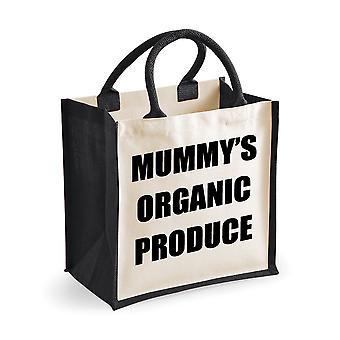 Mediu negru iută bag mama ' s organice produce