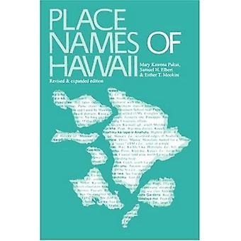 Förlägga namnger av Hawaii