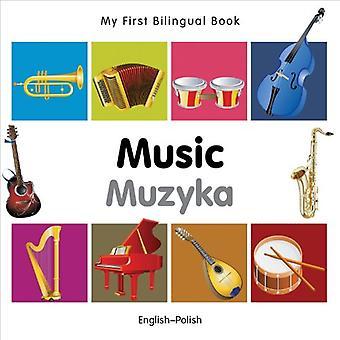Min första tvåspråkiga bok - musik: Engelska-polska