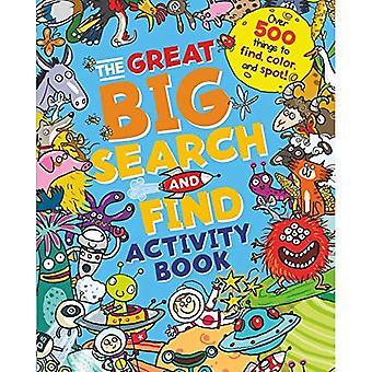 La grande grande chasse et trouver cahier d'activités: plus de 500 des choses à trouver, coloris et repérer!