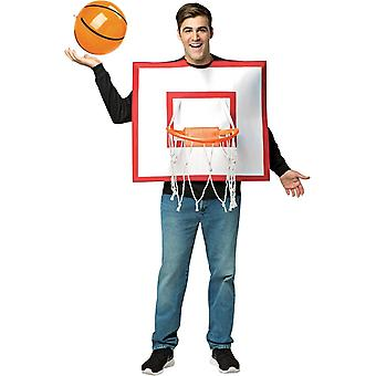 Basketball Hoop With Ball Adult Costume