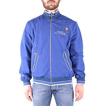 Paul & Shark Ezbc042051 Men's Blue Polyester Outerwear Jacket
