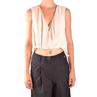 Elisabetta Franchi Ezbc050117 Naiset's Pink Viscose Top
