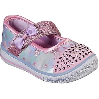 Scarpe Skechers ragazze Twinkle Play paillettes Mary Jane Casual