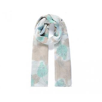 Intriga Womens/senhoras frondosa impressão lenço de dobra