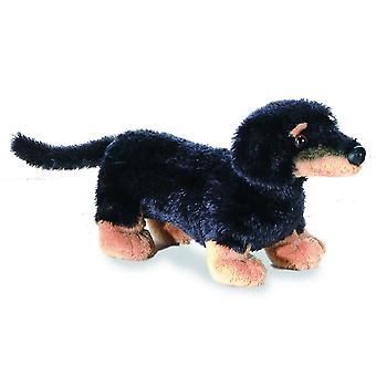 "Mini Flopsie Vienna Weiner Dog 8"" Plush by Aurora - 16636"