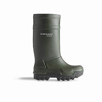 Dunlop C662933 Purofort Thermo + Full säkerhet Wellington Womens stövlar / säkerhet gummistövlar
