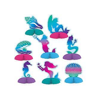 Mermaid Mini centerpieces