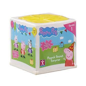 Peppa gris Peelkøbsaftaler hemmelig overraskelse legetøj
