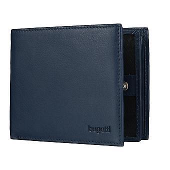 Bugatti Sempre wallet mens wallet purse blue 4126