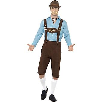 Bier Fest kostuum, Oktoberfest bier Festival fancy dress, XL
