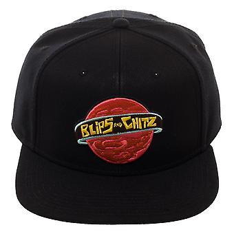 قبعة البيسبول -- ريكي ومورتي بليبز وChitz -- سنابباك sb6e28ric