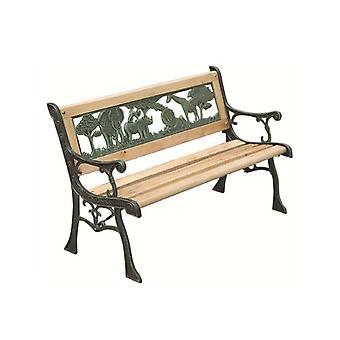 Kids træ haven bænk børn udendørs siddepladser møbler