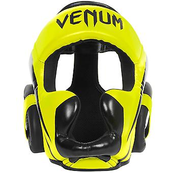 Venum Elite MMA Boxing Headgear - Neo Yellow - One Size Fits All
