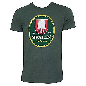 Spaten logotipo floresta verde t-Shirt