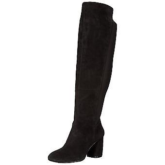 Nine West Womens Kerianna Fabric Closed Toe Over Knee Chelsea Boots
