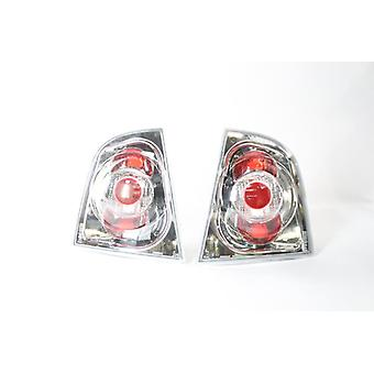 Skoda Octavia 1996-2000 Rear Lamp Upgrade Set For Hatchback Contains both lamps