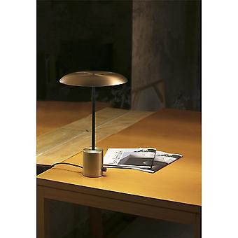 Faro - Hoshi guld og sort LED bord lampe FARO28387