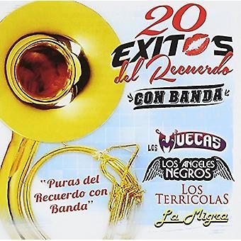 Artisti vari - 20 Exitos Del Recuerdo - importazione USA Puras [CD]