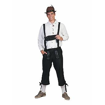 Trachtenhose Costume Hommes Oktoberfest Bayern PantalonS Lederhosenstyle Costume Homme