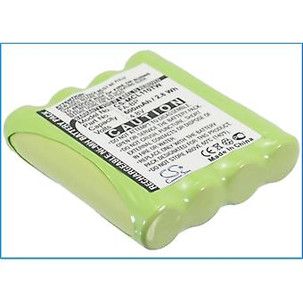 Battery for Motorola TLKR-T5 TLKR-T7 TLKR-T4 TLKR-T6 IXNN4002A Cobra FA-BP GA-CT